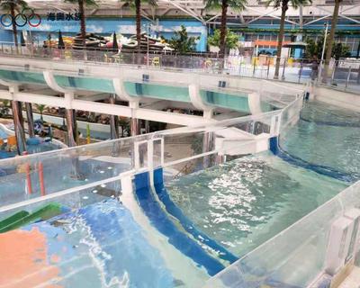 热博游泳池-漂流池