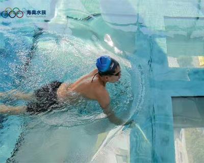 热博游泳池-悬挑泳池